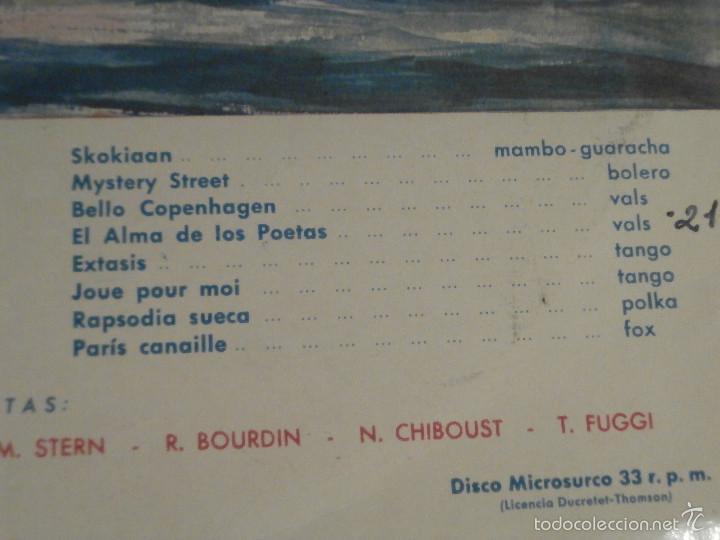 Discos de vinilo: DISCO - VINILO - LP - VELADA DE GALA A BORDO DEL LIBERTÉ - TELEFUNKEN - AÑOS 1950 - Foto 3 - 58628858