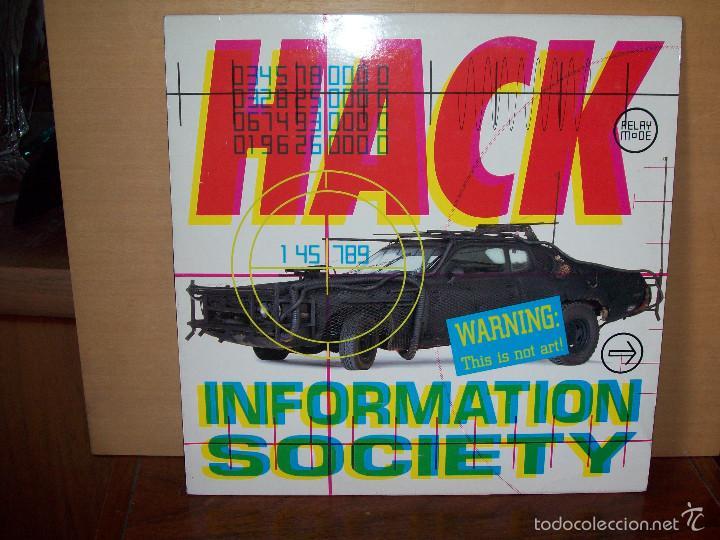 INFORMATION SOCIETY - HACK - LP (Música - Discos - LP Vinilo - Techno, Trance y House)