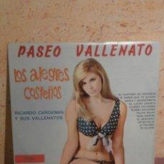 Discos de vinilo: DISCO - VINILO - LP - PASEO VALLENATO - RICARDO CARDENAS Y SUS VALLENATOS - BAMBUCO - STEREO - 50'S. Lote 58631971