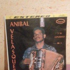 Discos de vinilo: DISCO - VINILO - LP - ANIBAL VELASQUEZ Y SU CONJUNTO VOL. 4 - TROPICAL - COLOMBIA AÑOS 50. Lote 58632047