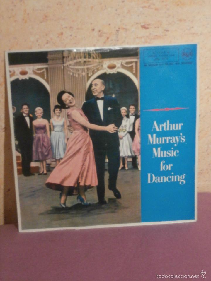 DISCO - VINILO - LP - ARTHUR MURRAY'S - MUSIC FOR DANCING - RCA - AÑO 1961 (Música - Discos - LP Vinilo - Orquestas)