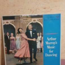 Discos de vinilo: DISCO - VINILO - LP - ARTHUR MURRAY'S - MUSIC FOR DANCING - RCA - AÑO 1961. Lote 58632063