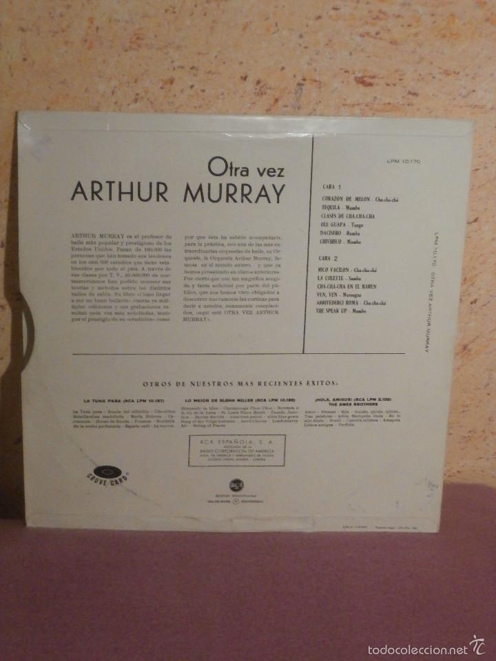 Discos de vinilo: DISCO - VINILO - LP - ARTHUR MURRAYS - MUSIC FOR DANCING - RCA - AÑO 1961 - Foto 2 - 58632063