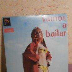 Discos de vinilo: DISCO - VINILO - LP - VAMOS A BAILAR - VARIOS ARTISTAS VOL. 5 - BAMBUCO - STEREO - COLOMBIA AÑO 60'S. Lote 58632189