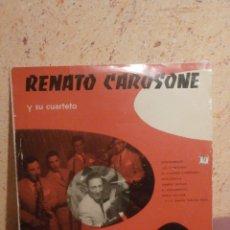 Discos de vinilo: DISCO - VINILO - LP - RENATO CAROSONE Y SU CUARTETO - CAROSELLO CAROSONE - PATHÉ - AÑO 1955. Lote 58632231