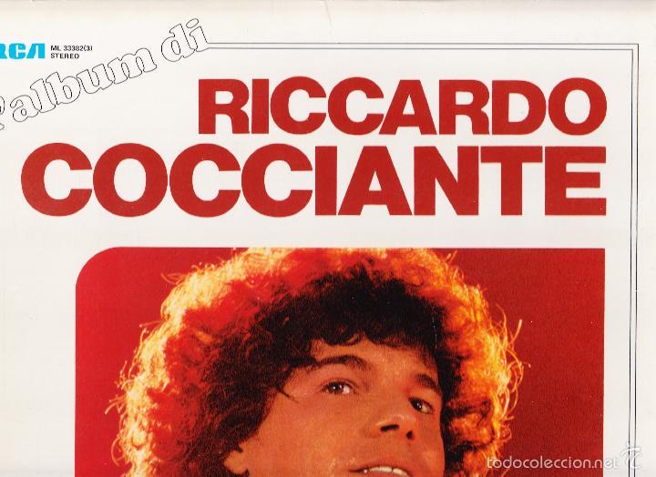 L'ALBUM DI RICCARDO COCCIANTE - TRES LP'S (Música - Discos - LP Vinilo - Canción Francesa e Italiana)