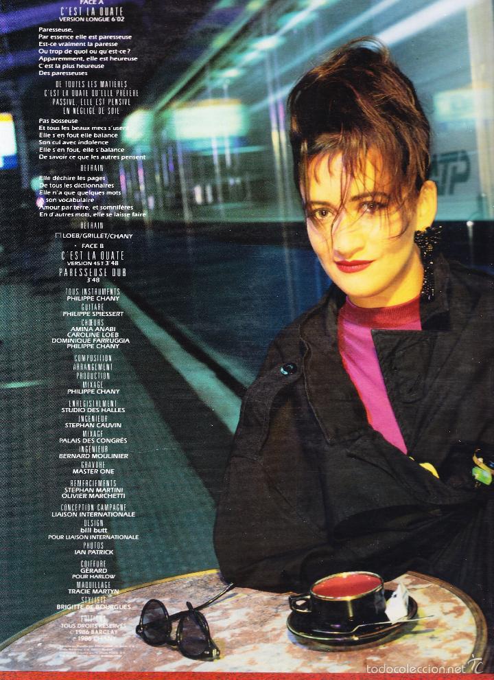 Discos de vinilo: CAROLINE LOEB - CEST LA OUATE - Foto 2 - 58633083