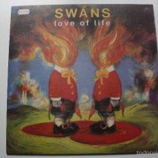 Discos de vinilo: SWANS- LOVE OF LIFE- UK LP 1992 + INERT- COMO NUEVO.. Lote 58634100