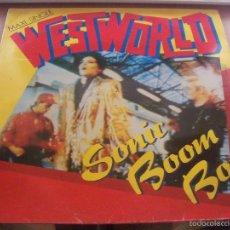 Discos de vinilo: MAXI-SINGLE DE WESTWORLD, SONIC BOOM BOY. EDICION RCA DE 1987.. Lote 58634137