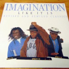 Discos de vinilo: IMAGINATION - LIKE IT IS - REVISED AND REMIXED CLASSICS. Lote 58634325