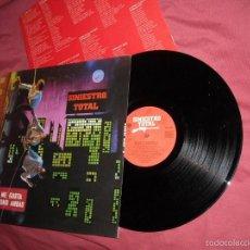 Discos de vinilo: SINIESTRO TOTAL LP ME GUSTA COMO ANDAS 1988 DRO CON ENCARTE VER FOTO. Lote 58636902