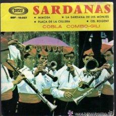 Discos de vinilo: COBLA COMBO-GILI- MIMOSA + 3 SARDANAS - EP 1965.. Lote 58636904