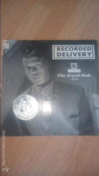 THE ROYAL MALE .EP. - DUKE - RECORDED DELIVERY - DOG CATCHER ,NIGHTRAIN , I´M COMING - IMPORTACION (Música - Discos - LP Vinilo - Cantautores Extranjeros)