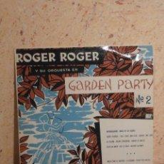 Discos de vinilo: DISCO - VINILO - LP - ROGER ROGER - GARDEN PARTY Nº 2 - GEORGES JOUVIN - VEGA HISPAVOX - AÑOS 50´S. Lote 58638162