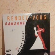 Discos de vinilo: DISCO - VINILO - LP - RENDEZ - VOUS DANSANT CON PIERRE DORSEY SU PIANO - VOGUE HISPAVOX, AÑOS 50´S. Lote 58638416