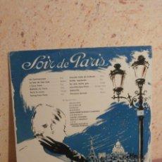 Discos de vinilo: DISCO - VINILO - LP - NOCHE DE PARIS - SOIR - VARIOS ARTISTAS - TELEFUNKEN - AÑOS 50´S. Lote 58638511
