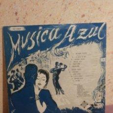 Discos de vinilo: DISCO - VINILO - LP - MUSICA AZUL - VARIOS ARTISTAS - TELEFUNKEN - AÑOS 50´S. Lote 58638561