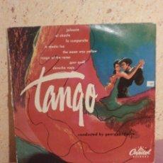 Discos de vinilo: DISCO - VINILO - LP - TANGO - DIRIGIDO POR GEORGES TZIPINE - CAPITOL RECORDS - AÑOS 50´S. Lote 58638912