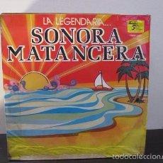 Discos de vinilo: ALBUM 3 LPS LEGENDARIA SONORA MATANCERA 1985 DISCOS FUENTES COLOMBIA LP Y1 VG. Lote 58639234