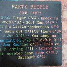 Discos de vinilo: PARTY PEOPLE SOUL PARTY P. Lote 58642255