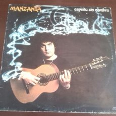 Discos de vinilo: MANZANITA - ESPIRITU SIN NOMBRE - LP - 1980. Lote 58644806