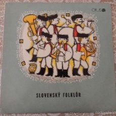 Discos de vinilo: SLOVENSKY FOLKLOR - OPUS. Lote 58650019
