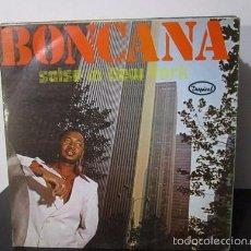 Discos de vinilo: BONCANA SALSA IN NEW YORK MONTUNO SON Y MAS LP Y1 VG. Lote 58651345