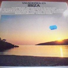 Discos de vinilo: LP VACACIONES EN IBIZA, VARIOS ARTISTAS. EDICION EMBASSY DE 1976. RARO. CAT#: EMB 31311. COMO NUEVO.. Lote 58651792