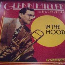 Discos de vinilo: LP DE GLENN MILLER AND HIS ORCHESTRA, IN THE MOOD. EDICION SERDISCO DE 1988. RARO. CAT# : 30112198. . Lote 58652427