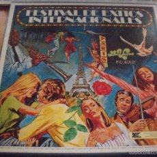 Discos de vinilo: PACK DE 8 LPS, FESTIVAL DE EXITOS INTERNACIONALES. EDICION READER'S DIGEST DE 1978. COMO NUEVO. . Lote 58653183