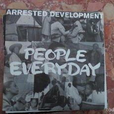 Discos de vinilo: ARRESTED DEVELOPMENT ··· PEOPLE EVERYDAY - (SINGLE 45RPM) ··· NUEVO. Lote 58656696