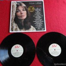 Discos de vinilo: MARIE LAFORET - 24 SUCCÈS // DOBLE LP // ORIGINAL FRANCIA // 1974 // MUY BUEN ESTADO. Lote 58656866
