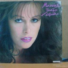 Disques de vinyle: MASSIEL - TIEMPOS DIFICILES - HISPAVOX S 90.456 - 1981. Lote 58658067
