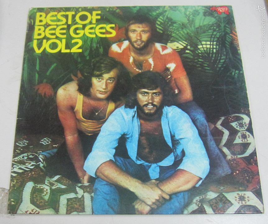 LP BEST OF BEE GEES. VOL2. POLYDOR, MADRID. 1973 (Música - Discos - LP Vinilo - Pop - Rock Extranjero de los 90 a la actualidad)