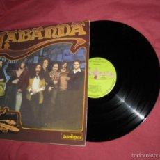 Discos de vinilo: LABANDA LP LABANDA 1980 ORIG GUINBARDA CARPETA DOBLE. Lote 58661694
