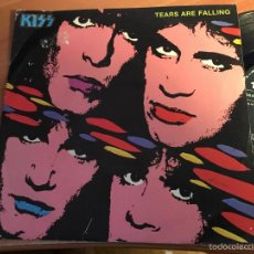 Discos de vinilo: KISS (TEARS ARE FALLING) SINGLE ESPAÑA 1985 (EPI2). Lote 58661917