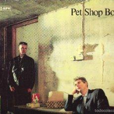 Discos de vinilo: PET SHOP BOYS - IT'S A SIN. Lote 58663005