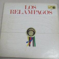 Discos de vinilo: LP LOS RELAMPAGOS. PISTAS. ZAFIRO ZN 6 - 1.. Lote 89521122