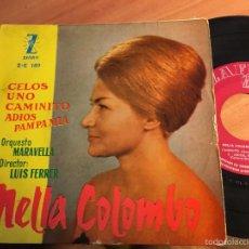 Discos de vinilo: NELLA COLOMBO. TANGOS (CELOS +3) EP ESPAÑA 1960 (EPI2). Lote 58664272