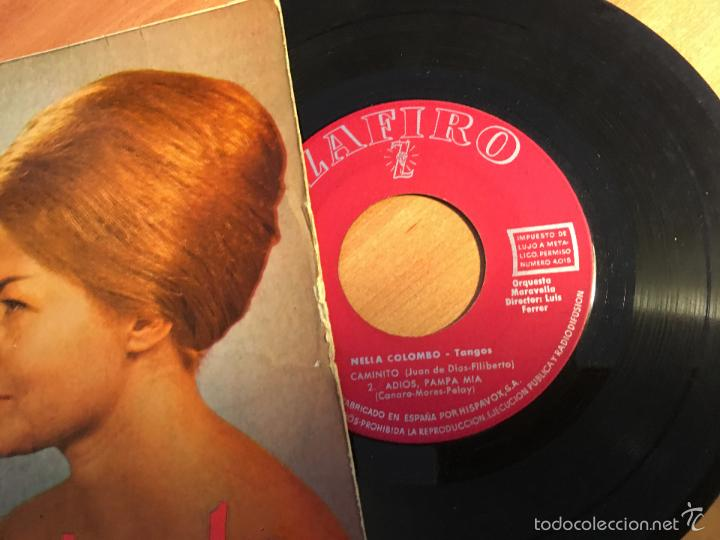 Discos de vinilo: NELLA COLOMBO. TANGOS (CELOS +3) EP ESPAÑA 1960 (EPI2) - Foto 2 - 58664272