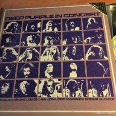 Discos de vinilo: DEEP PURPLE IN CONCERT. FAMA. 2 LP ESPAÑA 1986 GAT. (VINF). Lote 58667793