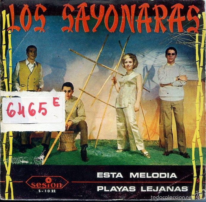 LOS SAYONARAS / ESTA MELODIA / PLAYAS LEJANAS (SINGLE PROMO 1967) (Música - Discos - Singles Vinilo - Grupos Españoles 50 y 60)