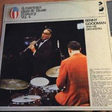Discos de vinilo: BENNY GOODMAN (AMERICAN JAZZ & BLUES HISTORY VOL 4) LP ESPAÑA 1980 (VINF). Lote 58671184