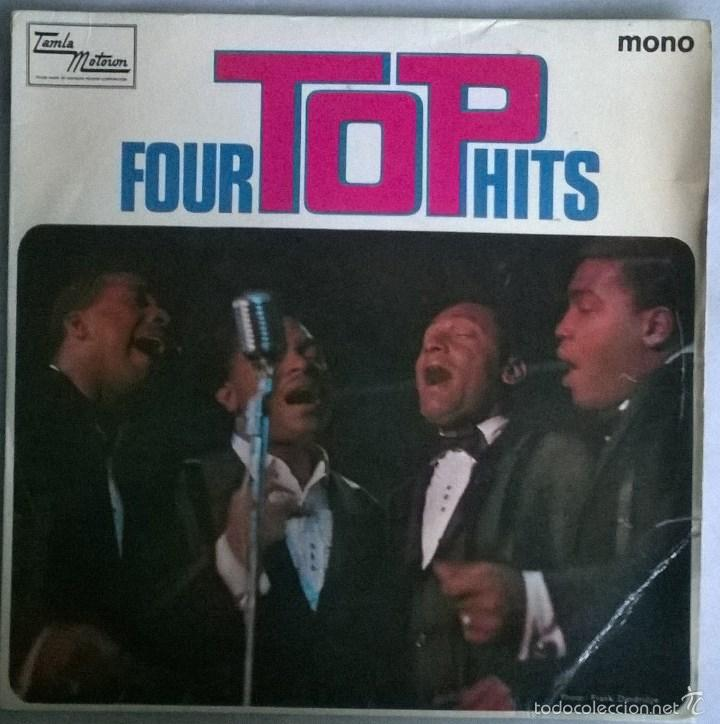 FOUR TOPS. HITS. REACH OUT I'LL THERE/ LOVING YOU IS SWEETER THAN EVER +2.TALMA MOTOWN. UK 1966 EP (Música - Discos de Vinilo - EPs - Funk, Soul y Black Music)