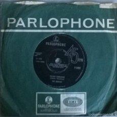 Discos de vinilo: BEATLES. YELLOW SUBMARINE/ ELEANOR RIGBY. PARLOPHONE, UK 1966 SINGLE ORIGINAL. Lote 58672988
