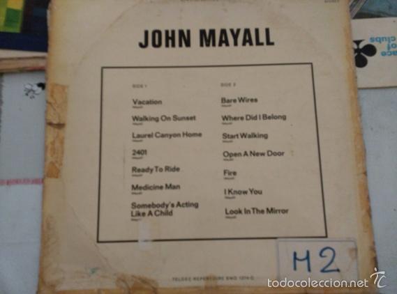 Discos de vinilo: JOHN MAYALL - THE BLUES ALONE - Foto 2 - 58676374