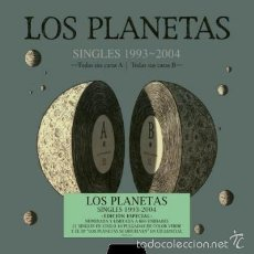 Discos de vinilo: LOS PLANETAS - CAJA SINGLES 1993 - 2004 (EDICION VINILO BOX SET) A ESTRENAR - DESCATALOGADO. Lote 70425974