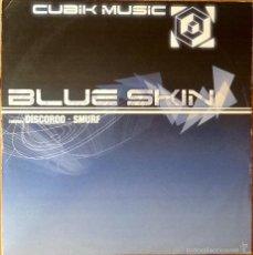 Discos de vinilo: BLUE SKIN : DISCOROO / SMURF [UK 2003] 12'. Lote 58682940