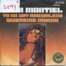 Discos de vinilo: SARA MONTIEL / YO NO SOY MAGDALENA / QUIEREME MUCHO (SINGLE PROMO 1977). Lote 103915440