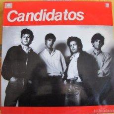 Discos de vinil: MAXI - CANDIDATOS - NO PUEDOMAS/UNA CANCION QUE ESCUCHE/LA CHICA IDEAL/LEJOS DE AQUI. Lote 58686302